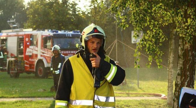2014/09/18 EINLAUF BMA BFA KLINIK (Übung)