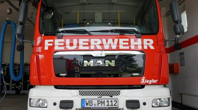 2018/7/4 Einsatz Flächenbrand 2 Trebitz-Österitz
