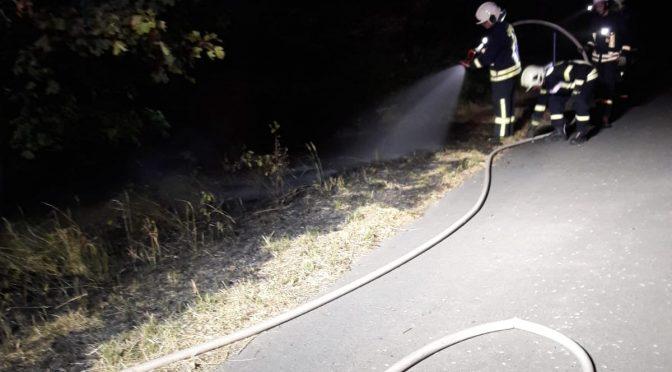2018/7/20 Einsatz Feuer2 B182 Pretzsch-Sachau