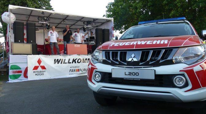 Mitsubishi L200 – Kommandowagen für die Freiwillige Feuerwehr Pretzsch