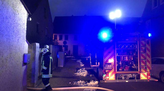 2021/01/07 Einsatz Feuer 3 Pretzsch  Wohn