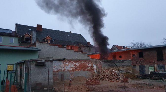 2021/02/04 Einsatz Feuer 4 Pretzsch  Dach
